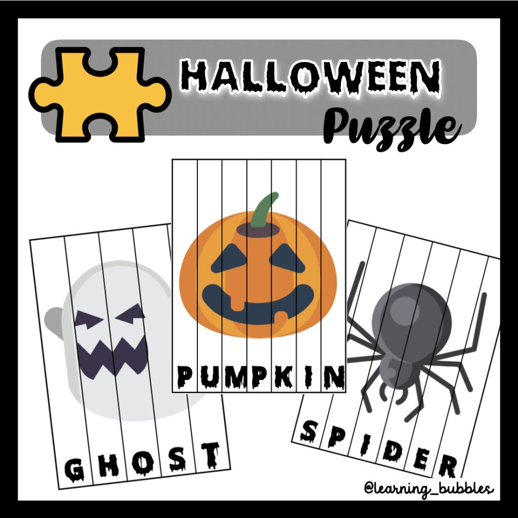 Halloween puzzle actividades y recursos halloween
