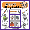 halloween story builder