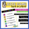 dice game getting to know you