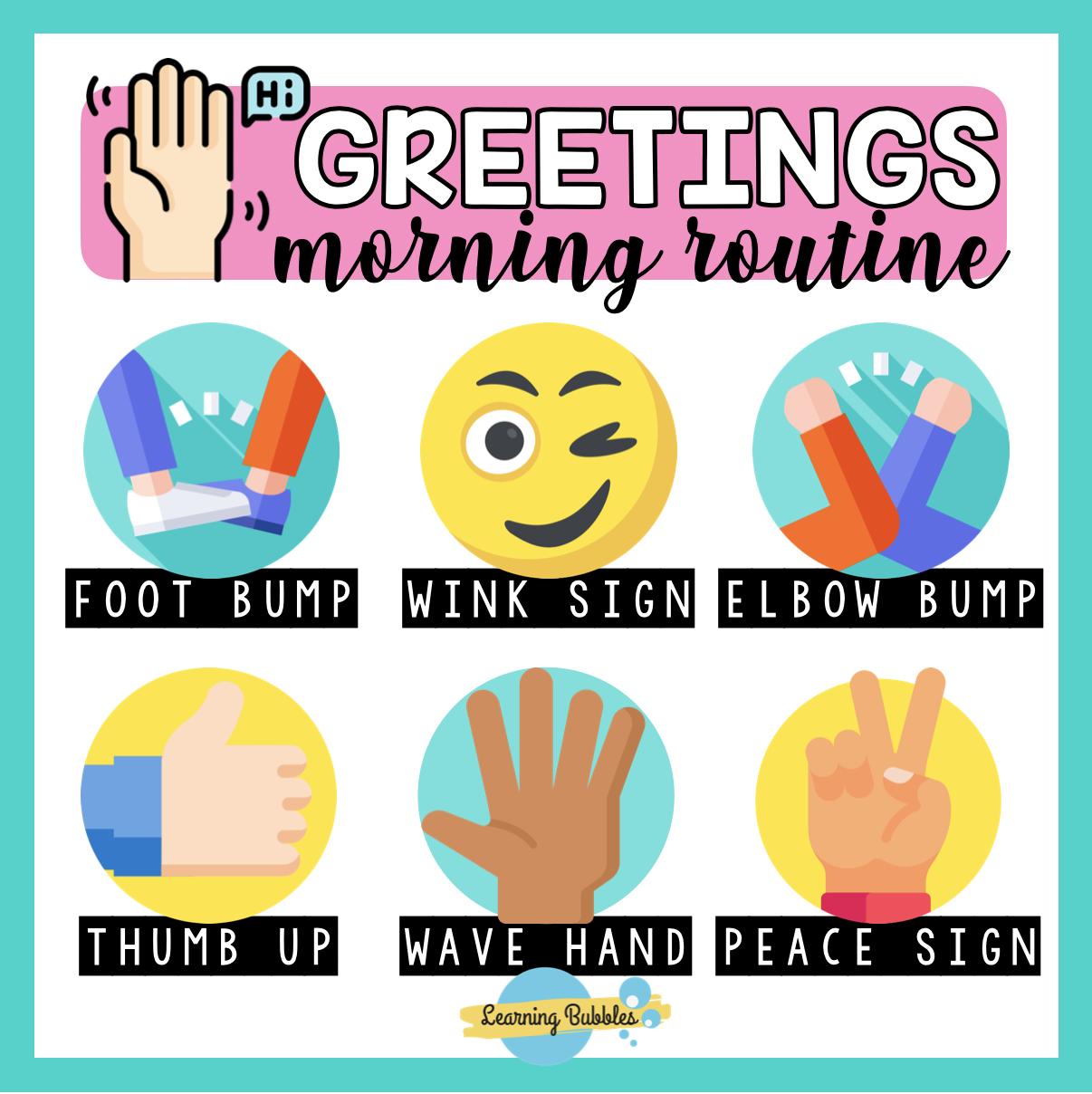 NEW MORNING GREETINGS