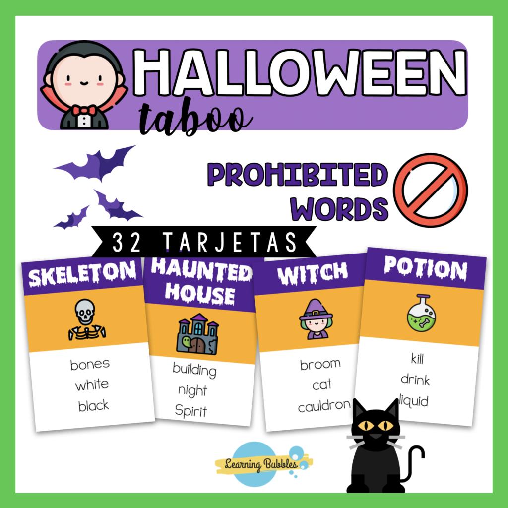 halloween taboo recursos y actividades