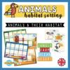 animals sorting habitats