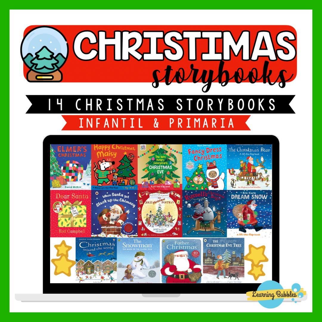 14 CHRISTMAS STORYBOOKS: LIBROS SOBRE LA NAVIDAD PARA TU CLASE DE INGLÉS