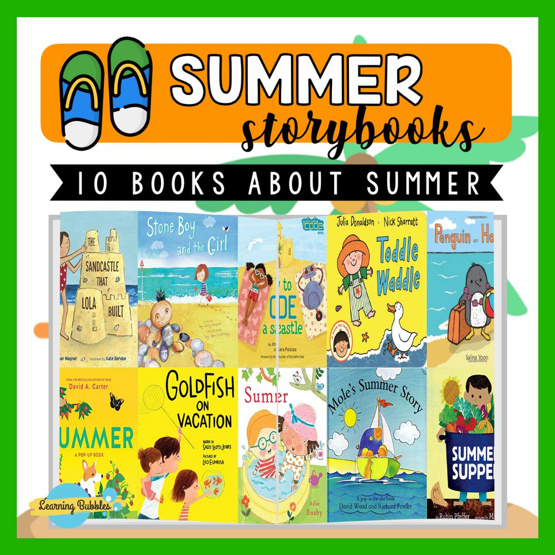 10 STORYBOOKS SOBRE SUMMER
