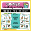 would you rather summer edition